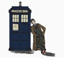 Tenth doctor and the TARDIS Kids Clothes