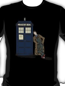 Tenth doctor and the TARDIS T-Shirt