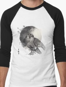 Falcon Bird  Men's Baseball ¾ T-Shirt