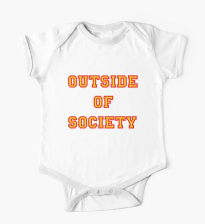 OUTSIDE OF SOCIETY One Piece - Short Sleeve
