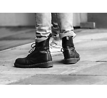 Dr Boots Photographic Print
