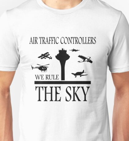 Aviation Air Traffic Controllers Unisex T-Shirt