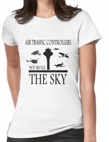 Aviation Air Traffic Controllers Womens Fitted T-Shirt