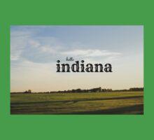Hello Indiana Kids Tee