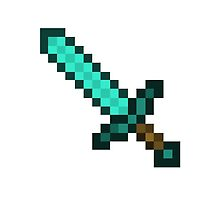 Diamond Sword - Minecraft by HammerMan216