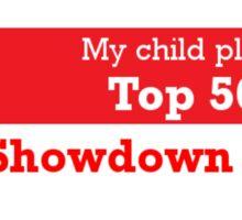 My Child is a Showdown Hero Bumper Sticker Sticker