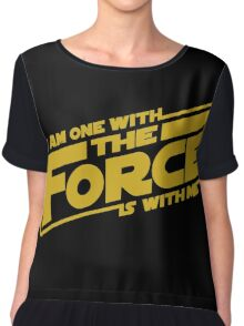 I am one with it Women's Chiffon Top