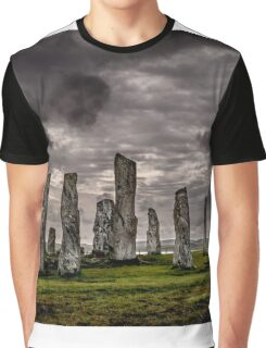 Callanish Stone Circle Graphic T-Shirt