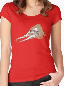 Crazy Ducky Women's Fitted Scoop T-Shirt