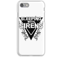 Sleeping with Sirens Floral - Light iPhone Case/Skin