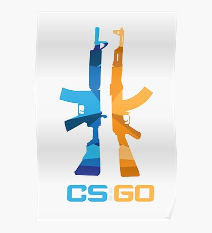 CSGO T vs CT Poster