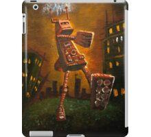 robot sunset iPad Case/Skin