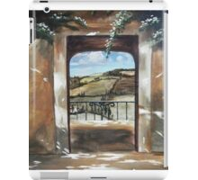 Doorway to Tuscany iPad Case/Skin