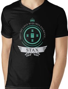 Magic the Gathering - Stax Life V2 Mens V-Neck T-Shirt