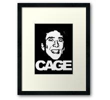 Nicolas Cage #2 Framed Print
