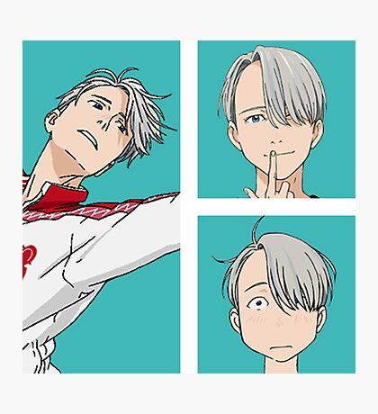 yuri on ice Photographic Print