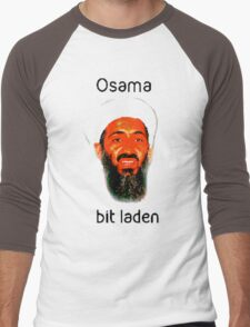 Osama Bit Laden Men's Baseball ¾ T-Shirt