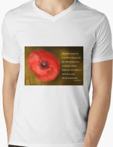 Remembrance Mens V-Neck T-Shirt