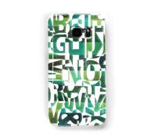 Geotypes Samsung Galaxy Case/Skin
