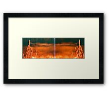 Autumn is coming Framed Print