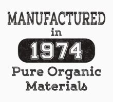 Manufactured in 1974 by JohnLucke