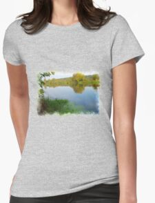Autumn River 5 Womens Fitted T-Shirt