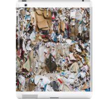 scrap paper iPad Case/Skin