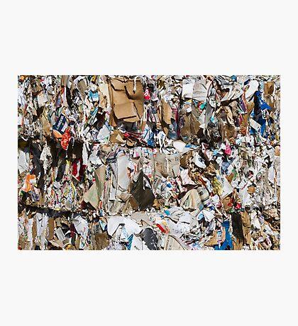 scrap paper Photographic Print