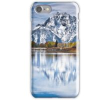 Mount Moran in Oxbow Bend  iPhone Case/Skin