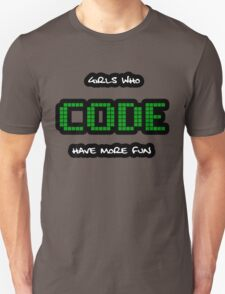GIRLS WHO CODE Unisex T-Shirt