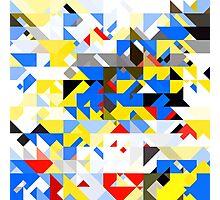 pattern mon Photographic Print
