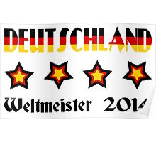 Germany - 2014 World Champion Poster