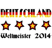 Germany - 2014 World Champion Photographic Print