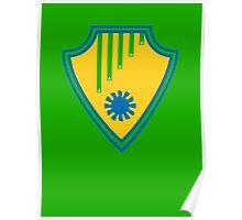 Brasil - Celebrative 2014 World Cup T-shirt Poster