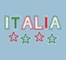 Italy - Celebrative 2014 World Cup T-shirt Baby Tee