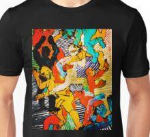 Dancers with Stripes Unisex T-Shirt
