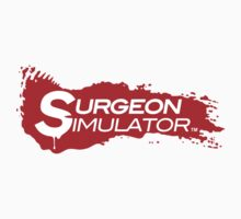 Surgeon Simulator Official Logo - Official Merchandise by BossaStudios