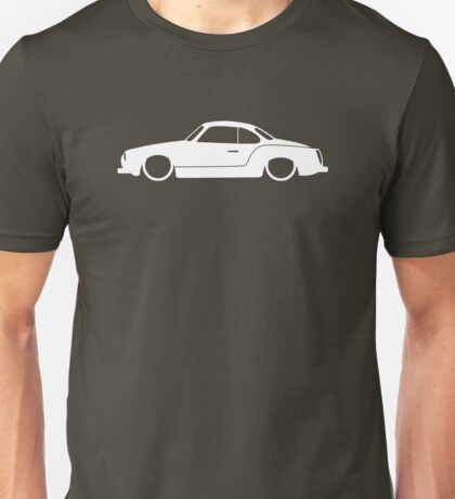 Lowered car for VW Type 14 Karmann Ghia enthusiasts Unisex T-Shirt