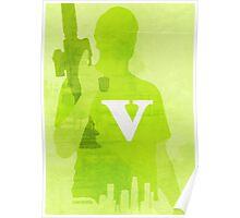 GTA V Minimalistic Design Poster