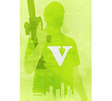 GTA V Minimalistic Design Photographic Print
