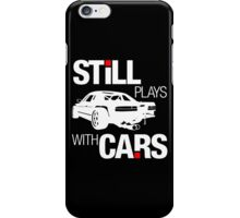 Still plays with cars (2) iPhone Case/Skin