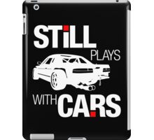 Still plays with cars (2) iPad Case/Skin