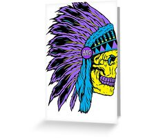 Chief Greeting Card