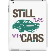 Still plays with cars (3) iPad Case/Skin