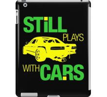 Still plays with cars (5) iPad Case/Skin