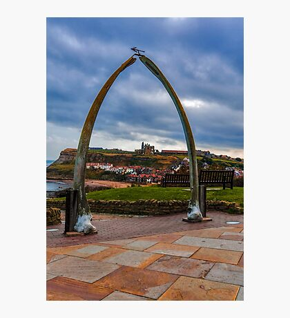 Whitby Whale Bones Photographic Print