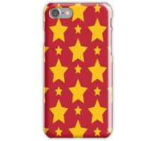 Gold Star Glamour iPhone Case/Skin
