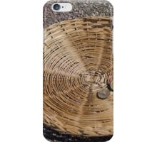 basket with alms iPhone Case/Skin