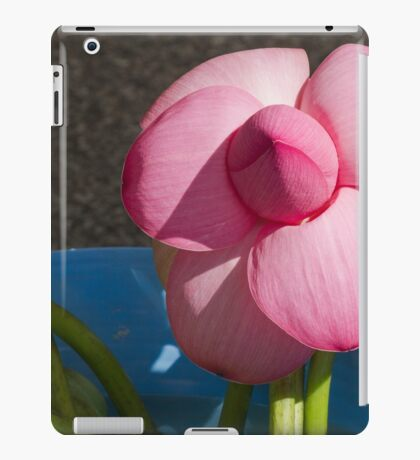 red waterlily iPad Case/Skin