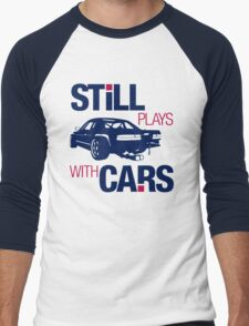 Still plays with cars (6) Men's Baseball ¾ T-Shirt